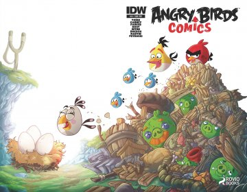 Angry Birds Comics 10 (April 2015) (subscriber cover)