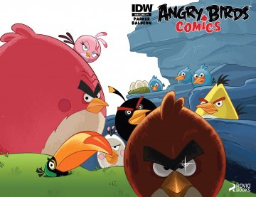 Angry Birds Comics 01 (June 2014)