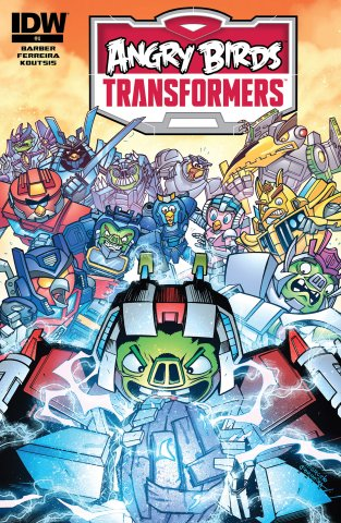 Angry Birds Transformers 04 (February 2015)