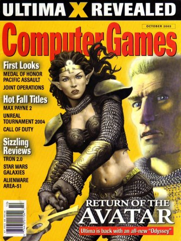 Computer Games Issue 155 (October 2003)