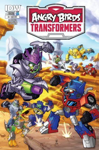 Angry Birds Transformers 02 (December 2014) (subscriber cover)