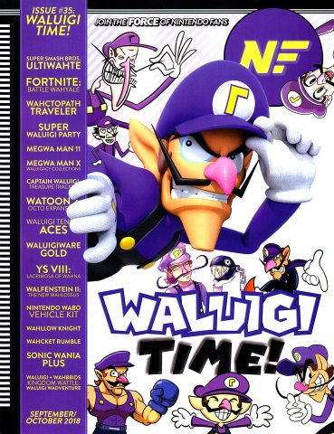 Nintendo Force Issue 035 September-October 2018