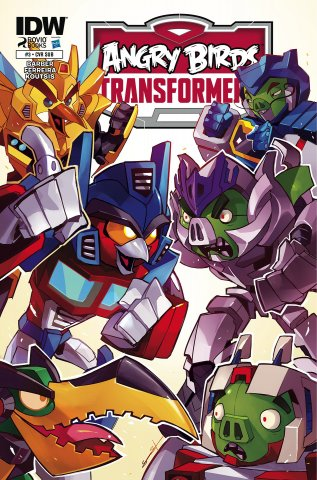 Angry Birds Transformers 03 (January 2015) (subscriber cover)