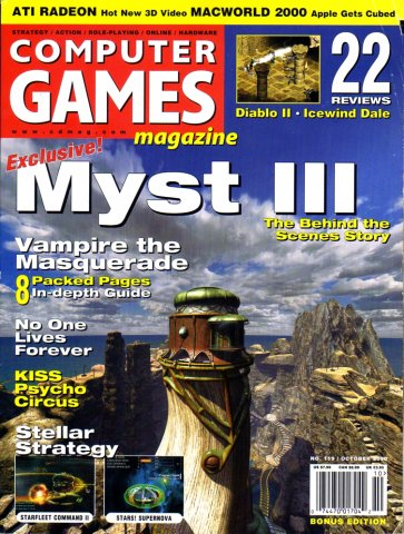 Computer Games Magazine Issue 119 (October 2000)