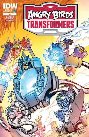 Angry Birds Transformers 03 (January 2015)