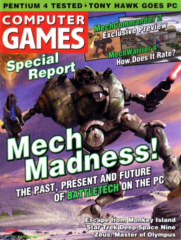 Computer Games Issue 123 (February 2001) *alternate cover*