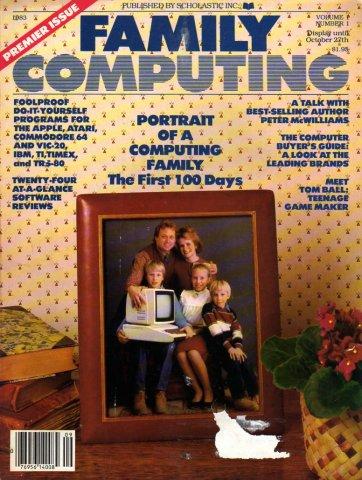 Family Computing Issue 01 (Vol. 01 No. 01)