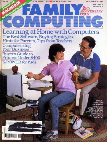Family Computing Issue 25 (Vol. 03 No. 09)