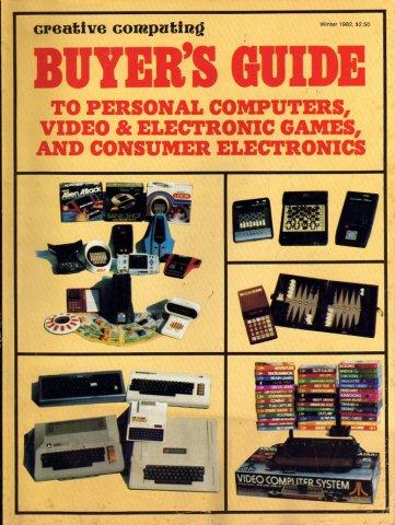 Creative Computing Buyer's Guide Winter 1982