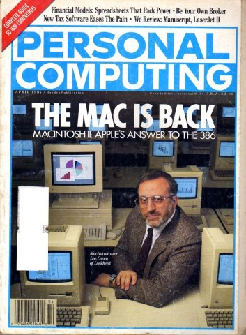 Personal Computing Vol. 11 No. 04 April 1987