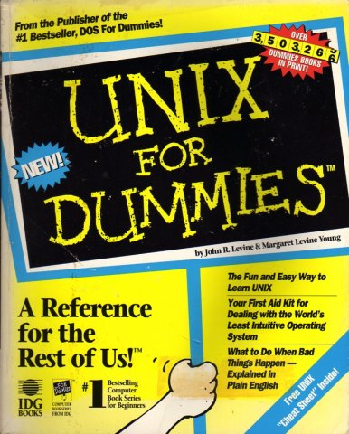 Unix for Dummies, First Edition.jpg