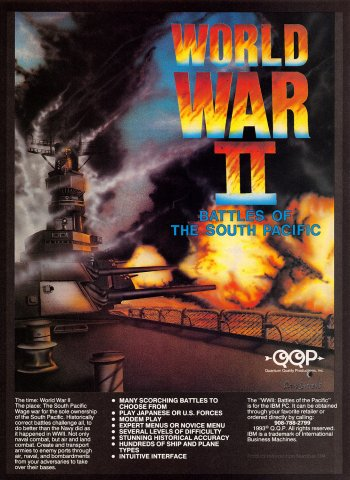 World War II: Battles of the South Pacific