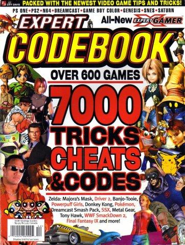 Expert Gamer Expert Codebook 2001