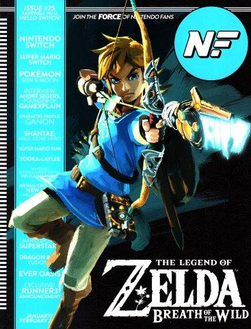 Nintendo Force Issue 25 January/February 2017