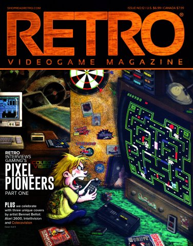 Retro Videogame Magazine Issue 012 Cover 3 of 3
