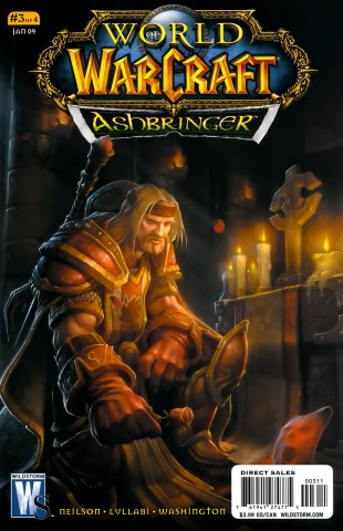 World of Warcraft - Ashbringer 03 (cover b) (January 2009)