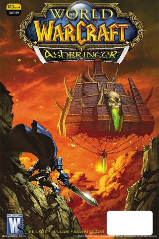 World of Warcraft - Ashbringer 03 (cover a) (January 2009)