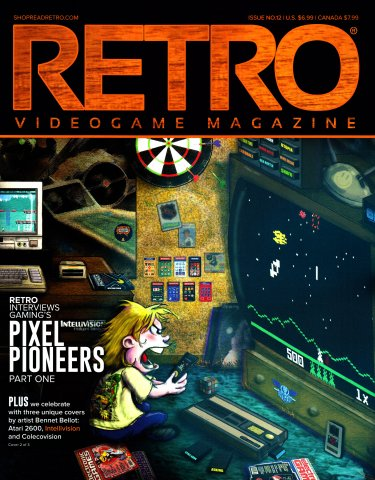 Retro Videogame Magazine Issue 012 Cover 2 of 3