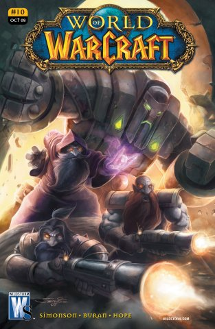 World of Warcraft 10 (variant) (October 2008)