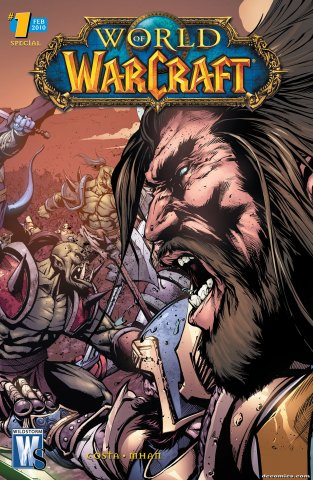 World of Warcraft Special 01 (cover b) (February 2010)