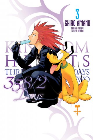 Kingdom Hearts 358/2Days Vol.3 (English)