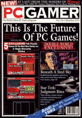 PC Gamer UK 001 December 1993