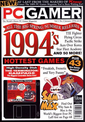 PC Gamer UK 002 January 1994
