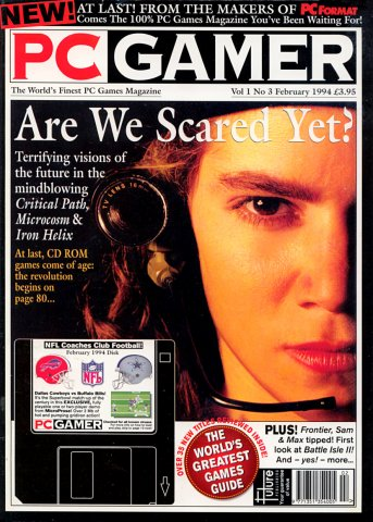 PC Gamer UK 003 February 1994