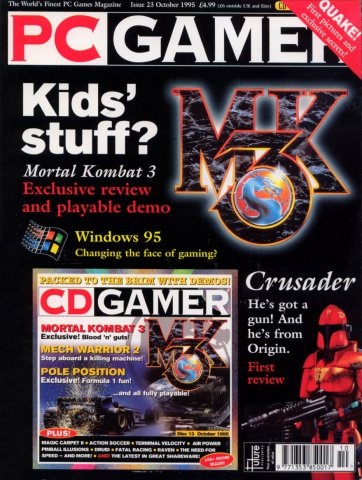 PC Gamer UK 023 October 1995