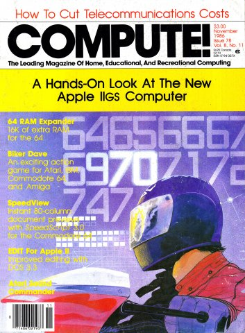 Compute! Issue 078 Vol. 08 No. 11 November 1986