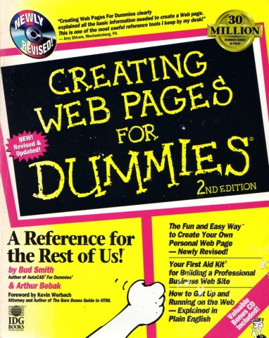 Creating Web Pages For Dummies (2nd Edition)