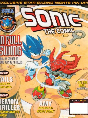 Sonic the Comic 110 (August 19, 1997)