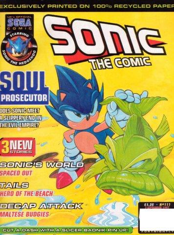 Sonic the Comic 111 (September 2, 1997)