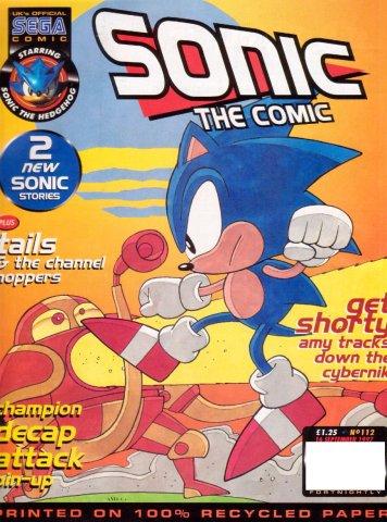 Sonic the Comic 112 (September 16, 1997)