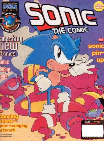 Sonic the Comic 113 (September 30, 1997)
