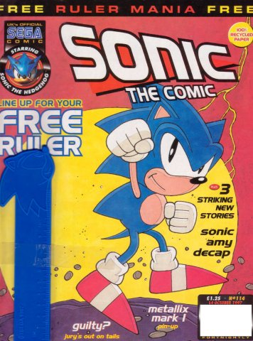 Sonic the Comic 114 (October 14, 1997)