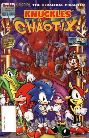 Sonic the Hedgehog Presents: Knuckles' Chaotix (January 1996)
