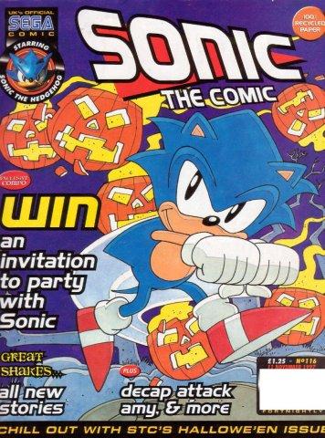 Sonic the Comic 116 (November 11, 1997)