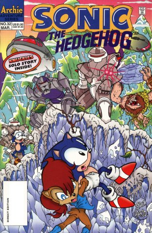 Sonic the Hedgehog 032 (March 1996)