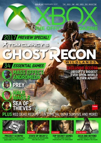 XBOX The Official Magazine Issue 147 February 2017
