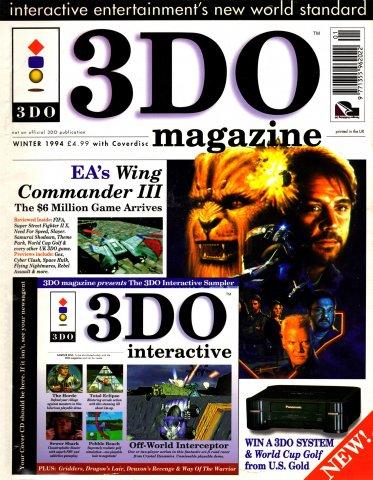 3DO Magazine UK Issue 01 Winter 1994
