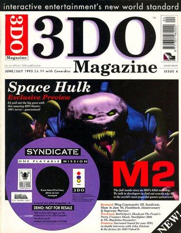 3DO Magazine UK Issue 04 June/July 1995