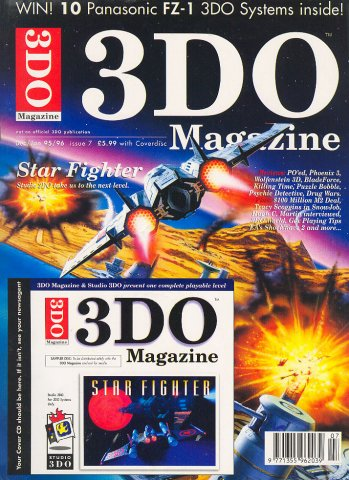 3DO Magazine UK Issue 07 December 1995/January 1996