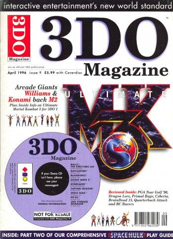 3DO Magazine UK Issue 09 April 1996