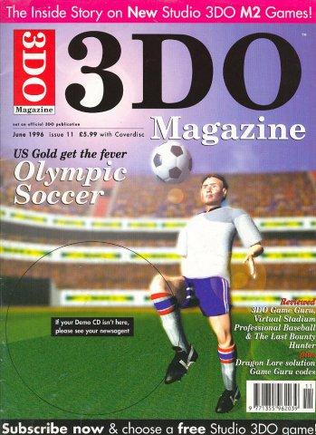 3DO Magazine UK Issue 11 June 1996