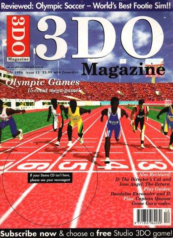 3DO Magazine UK Issue 12 July 1996
