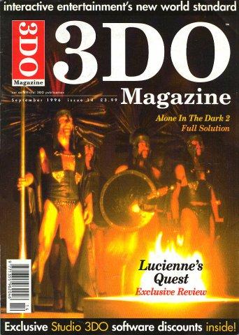 3DO Magazine UK Issue 14 September 1996