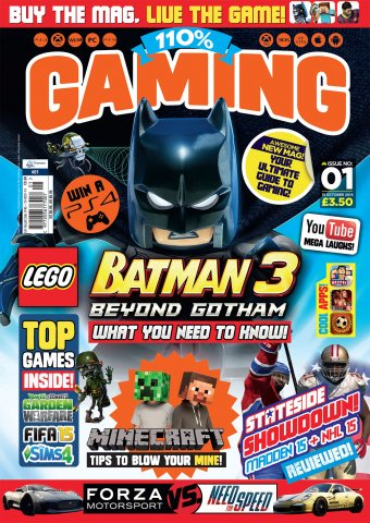 110% Gaming Issue 001 (October 15, 2014)