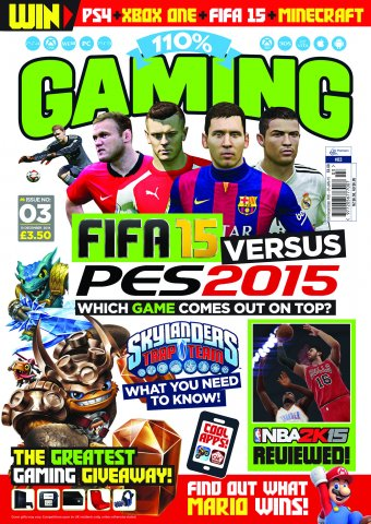 110% Gaming Issue 003 (December 10, 2014)