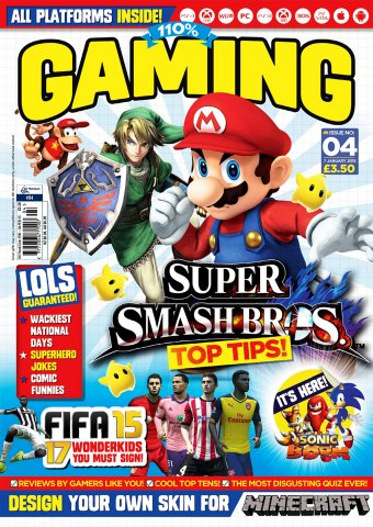 110% Gaming Issue 004 (January 7, 2015)